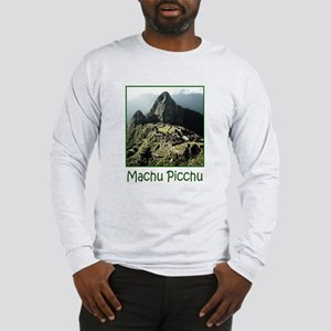 Long Sleeve T-Shirt Featuring Machu Picchu Peru