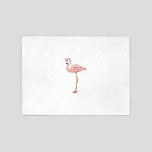 Long leg crane 5'x7'Area Rug