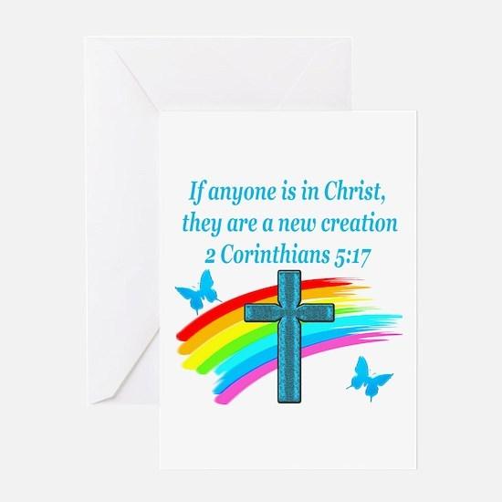 2 Corinthians 5:17 Greeting Card
