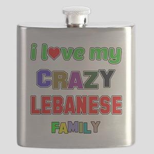 I love my crazy Lebanese family Flask