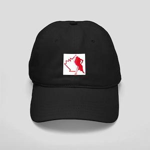 Retro Ringette Canada Black Cap