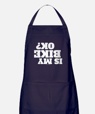 Is My Bike OK? Apron (dark)