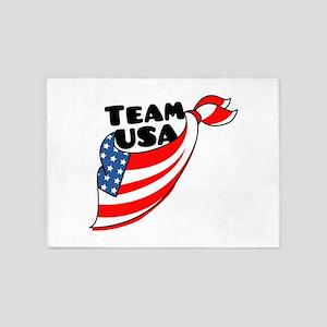 Team USA 5'x7'Area Rug