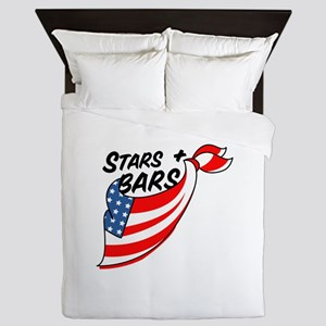 Stars & Bars Queen Duvet