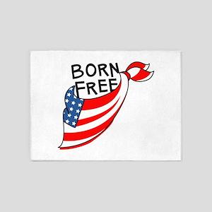 Born Free 5'x7'Area Rug