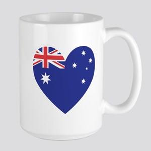Large Mug - Australian Heart Mugs