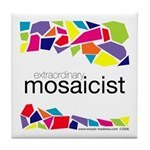 Extraordinary Mosaicist Tile Coaster