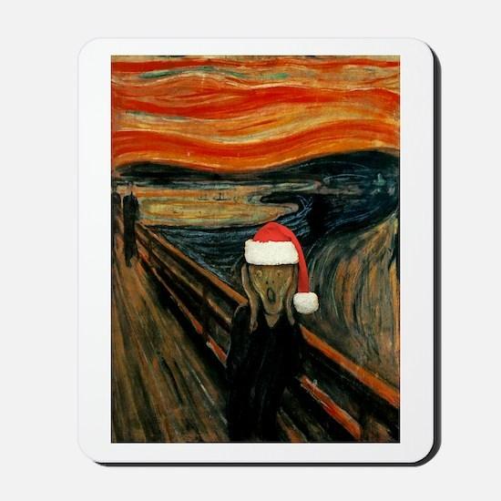 Scream Santa Mousepad