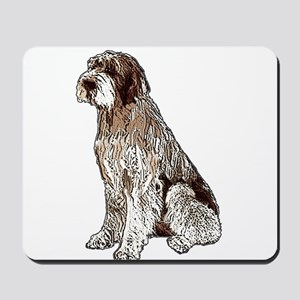 Wirehaired Pointing Griffon P Mousepad