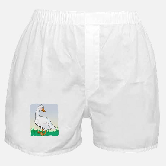 Cute Happy Goose Boxer Shorts