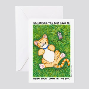 Warm Tummy Greeting Cards (Pk of 10)