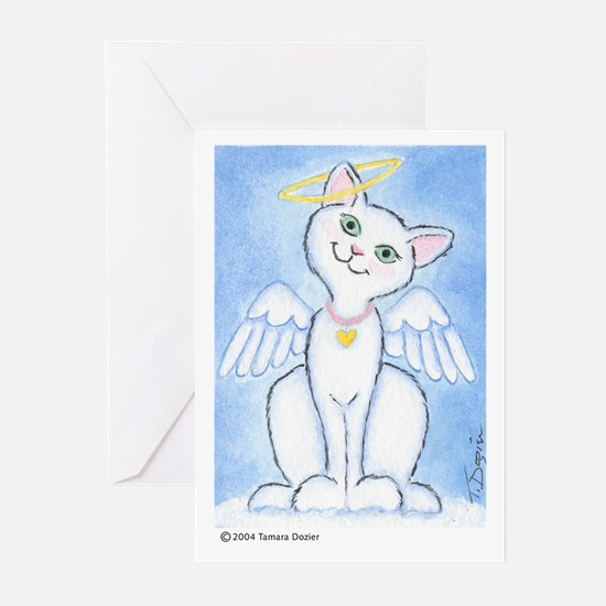 Angel Kitty Greeting Cards (Pk of 10)