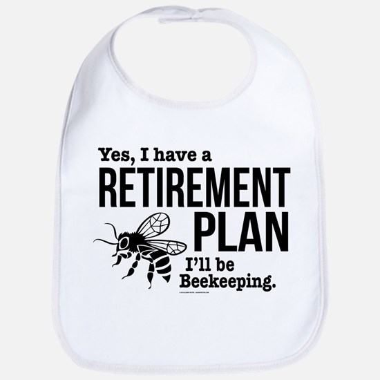Beekeeping Retirement Baby Bib