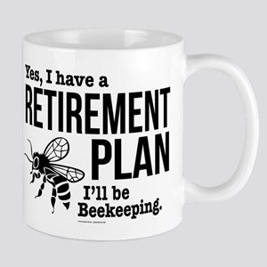 Beekeeping Retirement Mugs