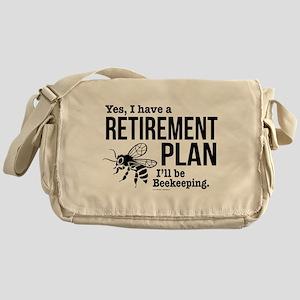 Beekeeping Retirement Messenger Bag