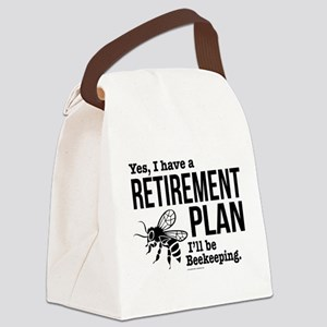 Beekeeping Retirement Canvas Lunch Bag