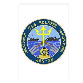 USS Bolster (ARS 38) Postcards (Package of 8)