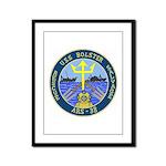 USS Bolster (ARS 38) Framed Panel Print