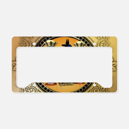 Anubis License Plate Holder