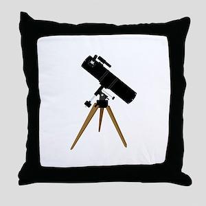 Reflector telescope Throw Pillow