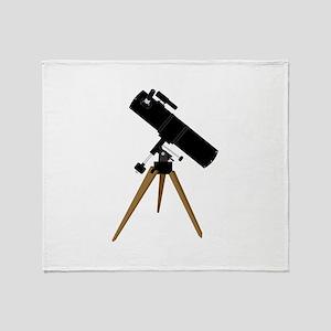 Reflector telescope Throw Blanket