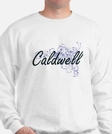 Caldwell surname artistic design with F Sweatshirt