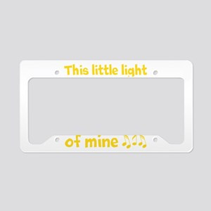 This Little Light Of Mine License Plate Holder