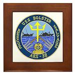 USS Bolster (ARS 38) Framed Tile