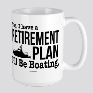 Boating Retirement Mugs