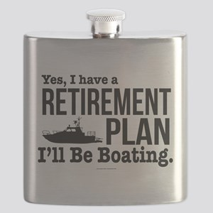 Boating Retirement Flask