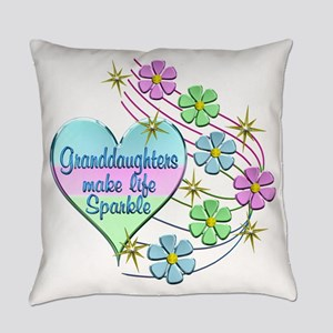 Granddaughters Make Life Sparkle Everyday Pillow