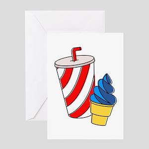 Ice Cream & Pop Greeting Cards