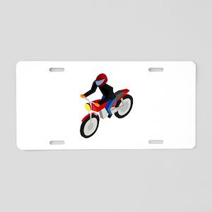 CM Isometric Biker Aluminum License Plate