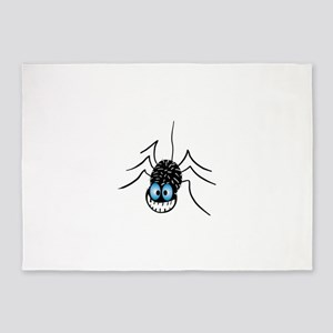 Spider Nutty 5'x7'Area Rug