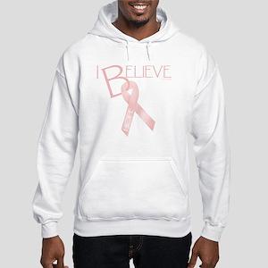 Peach Ribbon Hooded Sweatshirt