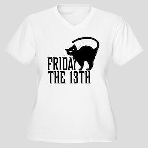 Friday 13th Women's Plus Size V-Neck T-Shirt
