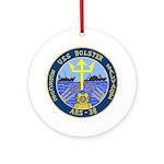 USS Bolster (ARS 38) Ornament (Round)