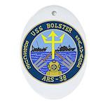 USS Bolster (ARS 38) Oval Ornament