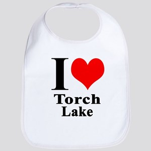 I heart Torch Lake Bib