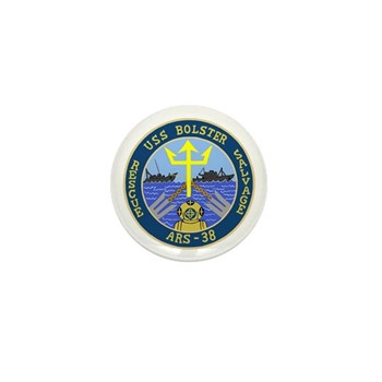 USS Bolster (ARS 38) Mini Button (100 pack)