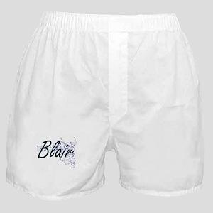 Blair surname artistic design with Fl Boxer Shorts