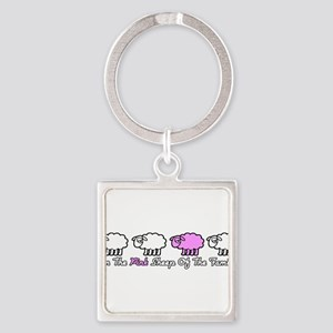 pink_sheep Keychains