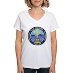 USS Bolster (ARS 38) Women's V-Neck T-Shirt