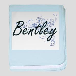 Bentley surname artistic design with baby blanket