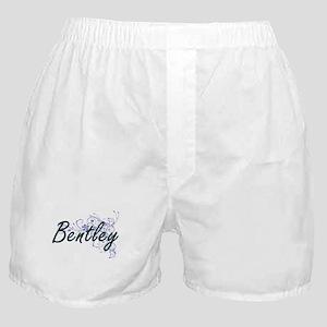 Bentley surname artistic design with Boxer Shorts