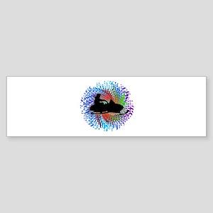 SNOW MAGIC Bumper Sticker