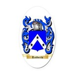 Rubberts Oval Car Magnet