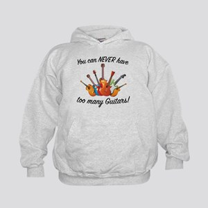 You Can Never Have Too Many Guitars Sweatshirt