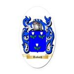 Rubach Oval Car Magnet