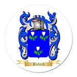 Rubach Round Car Magnet